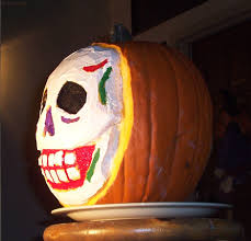 Day Of The Dead Pumpkin Carving Patterns by 100 A Dead Pumpkin 31 Days Of Painted Pumpkins From The