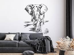 wandtattoo imposanter elefant wandtattoo de