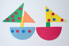 Simple Paper Craft For Kindergarten Construction Ideas Ye