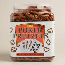 Utz Halloween Pretzels by Wege Poker Shape Pretzel Tub World Market