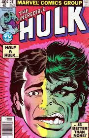 The Incredible Hulk 241 November 1979 Banner And Savage Start Fighting