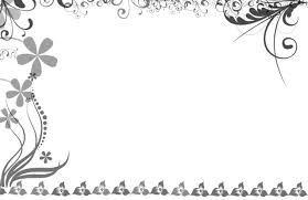 best free wedding borders design clipart images