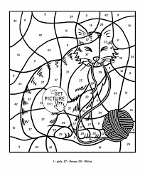 Number Printable Coloring Pages For Colors And Games
