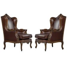 furniture reclining wingback chairs upholstered wingback chair