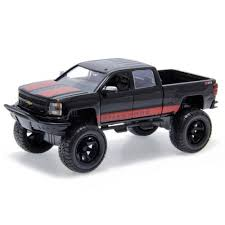 Chevy Silverado 2014 Just Trucks Off Road Edition Jada Toys 1:24 ...
