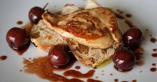 cuisiner un foie gras cru foie gras poêlé aux cerises recette de foie gras poêlé aux