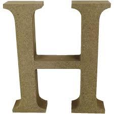 Alphabet Letters H