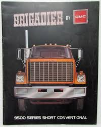 1978 GMC Trucks Brigadier 9500 Series Short Conventional Sales Brochure