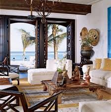 Exotic Living Room For British Colonial Style Spanish