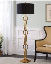 Pottery Barn Floor Lamps Ebay by Pottery Barn Interlaced Gold Chain Floor Lamp Pretty Ebay