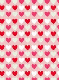 Pink Hearts Patterned Scrapbook Paper By Mr Printables