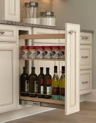 Kitchen Cabinet Filler Strips by Hidden Kitchen Storage Turn A Filler Panel Into A Pull Out