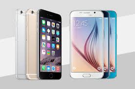 iPhone 6 vs Samsung Galaxy S6 best phone best plans