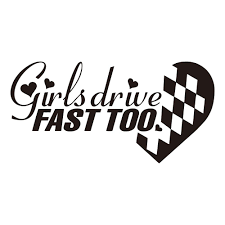 100 Truck Decals For Girls 2019 189cm Drive Fast Too Decal Sticker JDM Race Car