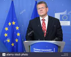 100 Sefcovic Brussels Belgium 15th Oct 2018 15102018 Belgium Brussels EU