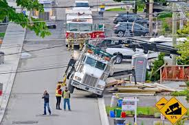 Lumber Truck Finds Its Tipping Point On White Rock's Maple Street ... The First Sherwood Lumber Trucks Fiery Wreck Hurts Two After Lumber Truck Blows Tire On I81 North In Lumber At Cstruction Site Stock Photo 596706 Alamy Delivery Service 2 Building Supplies Windows Doors Truck Highway With Cargo 124910270 Piggy Back Logging Trucks Transport Forestry Wood Industry Fort Worth Loading Check And Youtube Flatbed Stock Photo Image Of Hauling Industry 79874624 Jeons Leslie Jenson Fine Art