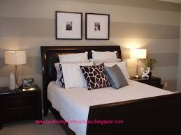 bedroom paint stripe