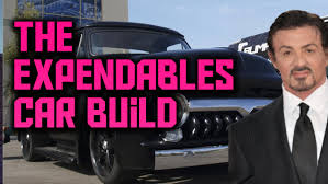 THE EXPENDABLES - Barney's 1955 Ford F-100 Build Guide