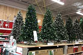 Ft Under Artificial Fetching Christmas Trees At Home Depot Wellsuited In October All Over Albany
