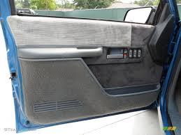 1990 Chevrolet C K C1500 Silverado Regular Cab Gray Door Panel