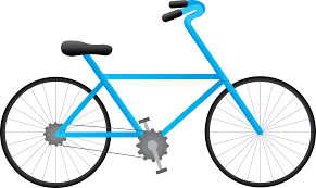 Blue Drawing Bicycle Png ClipArt Image 45203