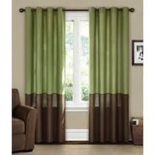 overstock this silk banded sheer panel can be hung from the top