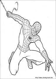 Coloring Pages Of Spidermanprintablecoloring
