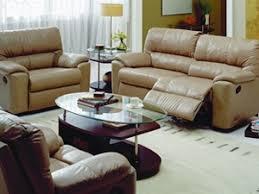 Yale Palliser Leather Reclining Sofa