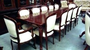 Extendable Dining Table Seats 12 Terrific Room In With Prepare Amazing