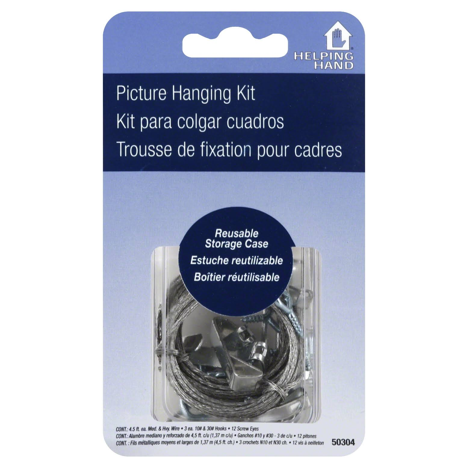 Helping Hand 50304 Picture Hanging Kit