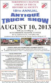 100 Gordon Trucking Pacific Wa AMERICAN TRUCK HISTORICAL SOCIETY NORTHWEST CHAPTER ANNUAL MEETING