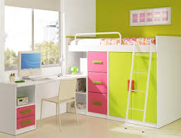 Loft Bed With Desk & Closet Child Loft Beds Pinterest