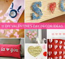 Roundup: 17 DIY Valentine - Valentine's Day Decorating Ideas's Day Decor Ideas » Curbly | DIY Design ...