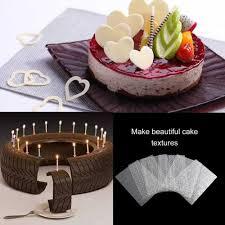 6pcs manly blume textur blatt set reifen textur matte für zucker handwerk dekoration cookie cupcake fondant kuchen form backen werkzeuge