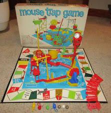 Item 3 VINTAGE ORIGINAL 1963 IDEAL MOUSE TRAP GAME