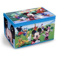 Mickey Mouse Potty Seat Walmart by Disney Mickey Mouse Fabric Toy Box Walmart Com