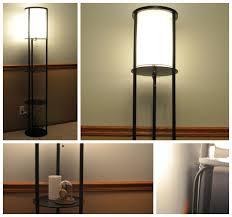 Mainstays Etagere Floor Lamp Shade by Shelf Floor Lamp Brightech Store Maxwell Shelf Floor Lamp U2013