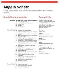 High School Student Resume Templates Inspirational For Highschool Students Beautiful Awesome