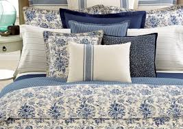 Tommy Hilfiger Curtains Prairie Paisley by Opening Blue And White Comforter Tags White And Red Bedding