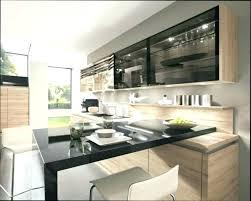 placard haut cuisine meuble haut cuisine noir annin info