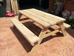 Pine Picnic Bench Table Treated Dining Tables Gumtree Area Downs Detached