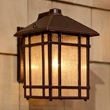 jardin du jour craftsman 11 high outdoor wall light
