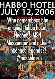 Who Remembers The Original Habbo Hotel Neopets MSN Messenger And Other Internet Legends Nostalgia