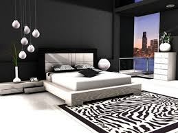 Chic Black And White Bedrooms Decor Theme Ideas