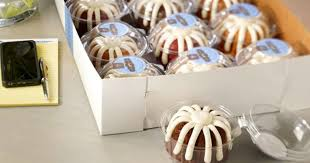 Free Nothing Bundt Cakes Mini Bundtlet Cake At 3PM Today First 300 Each Bakery