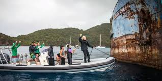 Define Sinking Fund Property by Watch Richard Branson Sink This Wwii Ship And Giant Steel Octopus