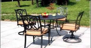 Ace Hardware Patio Furniture by Farmhouse Table With Metal Chairs Hd Home Wallpaper