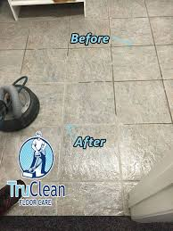 tired of scrubbing tile and grout let reel xtreme steam do it