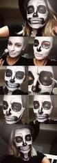 Halloween Half Mask Ideas by Best 25 Skeleton Makeup Ideas On Pinterest Pretty Skeleton