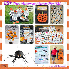 Halloween Scavenger Hunt Clue Cards by 25 Fun Halloween Games For Kids U2013 Pinlavie Com
